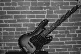 Bass Photo B&W Background