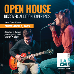Next LACM Open House November 9. Click to Register
