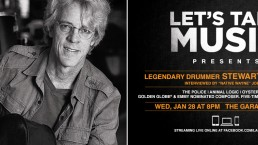 Lets Talk Music Stewart Copeland Header
