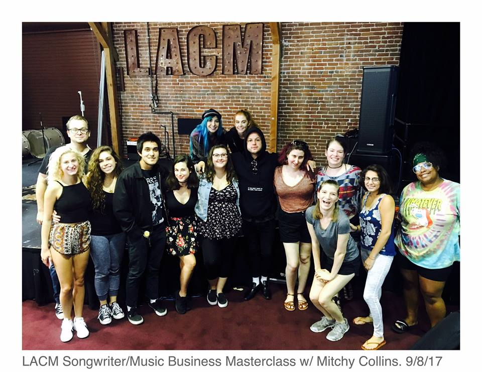 Mitchy Collins Songwriting & Music Business Guest Speaker