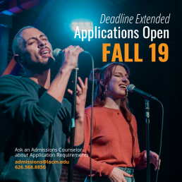 Applications for Fall Open - Deadline Extended
