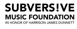 Subversive music foundation logo