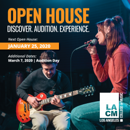 Next LACM Open House - Jan 25