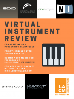 Virtual Instrument Review; Composition and Production Techniques