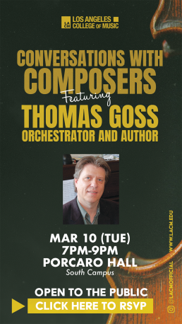 Conversations With Composers - Thomas Goss