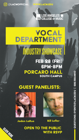 Vocal Department Industry Showcase