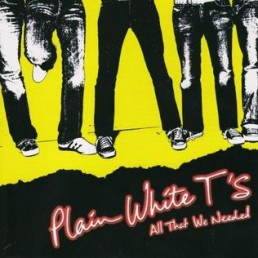 Plain White Ts, All That We Needed