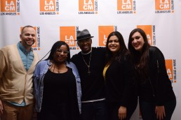 Music Business Students with NE-YO