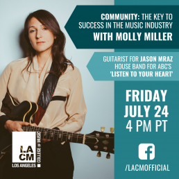 Community: The Key to Success in the Music Industry with Molly Miller