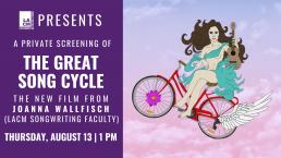 The Great Song Cycle Private Screening