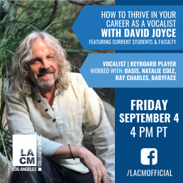 How to Thrive in Your Career as a Vocalist with David Joyce