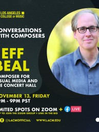 Jeff Beal Conversations with Composers 11/13/20