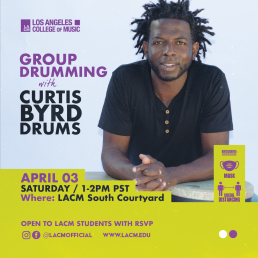 Drum Circle with Curtis Byrd
