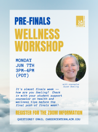Student Support Wellness Workshop